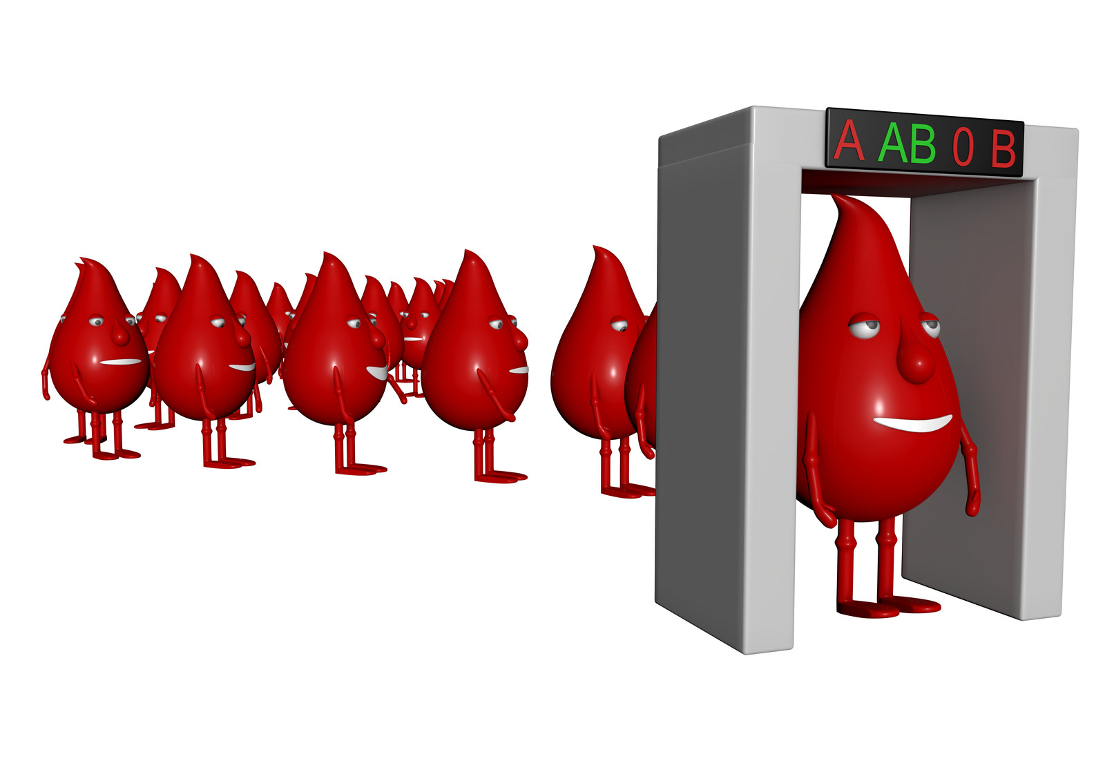 Blood donation screening